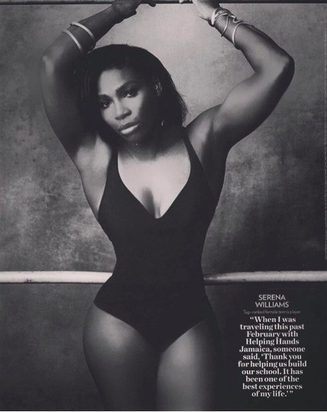 Serena Williams Caught In People Magazine Photoshop Debate, Fans Say They Much Prefer Untouched Photo