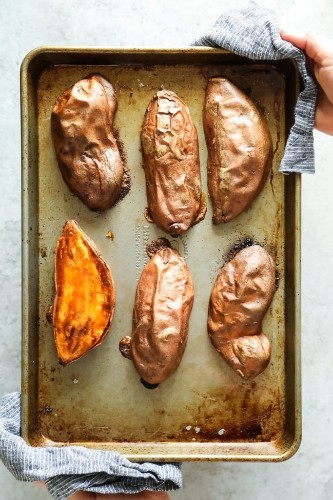 A Brilliant Way To Cook Sweet Potatoes In Half The Time