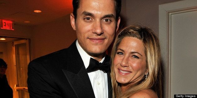 Jennifer Aniston, John Mayer Dine Two Tables Away From Each Other In West Hollywood