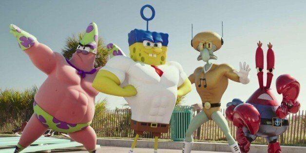 'SpongeBob SquarePants: Sponge Out Of Water' Trailer Brings Everyone's Favorite Seaworthy Crew Ashore