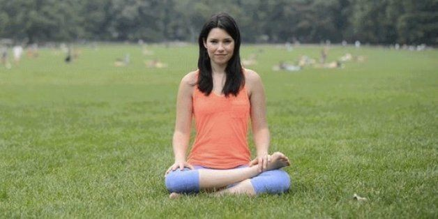 6 Yoga Poses For Anyone Who Sits At A Desk All Day