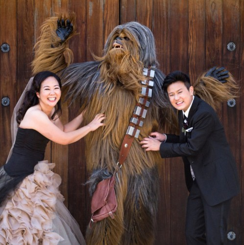 This Is What It Looks Like When A 'Star Wars' Nerd Marries A 'Star Trek' Geek   HuffPost Life