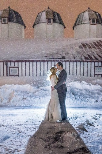 This Couple Married Mid-Blizzard And The Photos Made It All Worth It