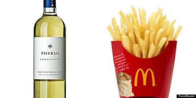 The Quintessential Guide to Fast Food + Wine Pairings