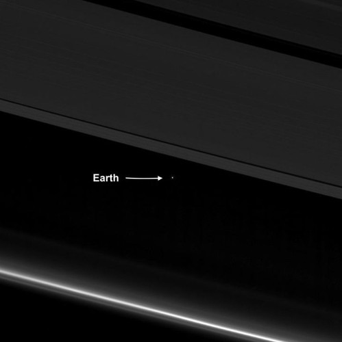 Cassini Preps For Death Plunge Into Saturn And Sends Farewell Image Of Tiny Earth