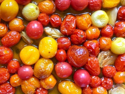 Cherry Tomato Confit Is The Best Recipe You'll Make All Summer