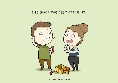 These Quirky Illustrations Will Be All-Too-Familiar To People In Love | HuffPost Life
