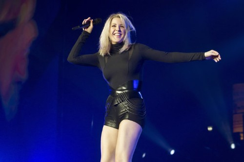 Ellie Goulding Nearly Died Driving Over A Frozen Lake In Norway