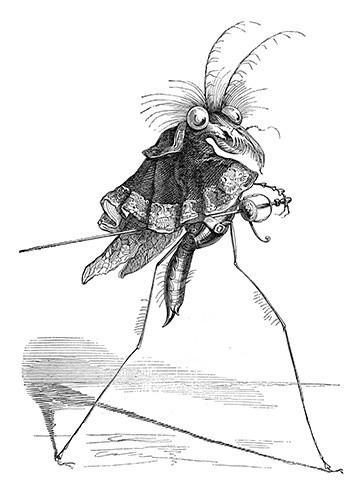 J. J. Grandville and His Fantastic Creatures