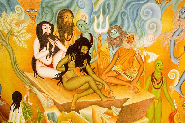 Shiva, the First Yogi