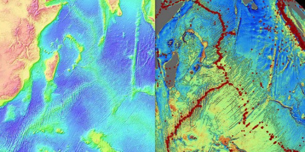 Scientists Discover Thousands Of Uncharted Mountains Hidden Beneath The Sea
