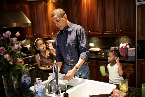 How the Presidency Made Me a Better Father