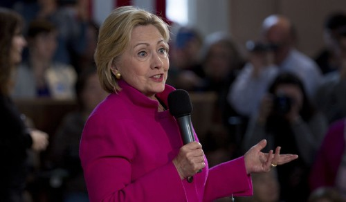 Hillary Clinton Really Wants You To Think She's Tough On Wall Street