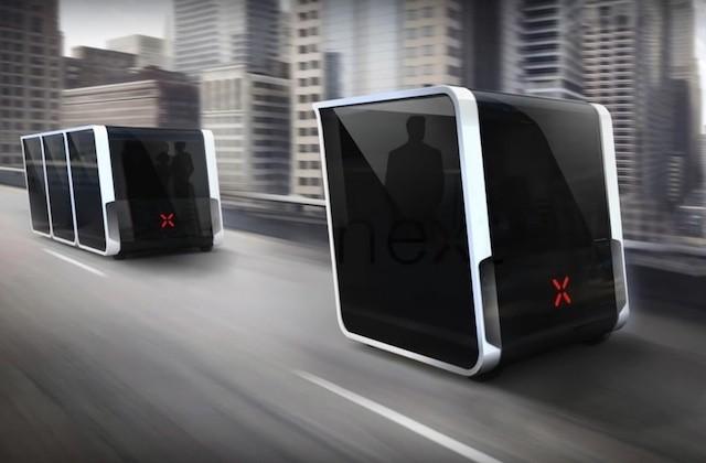 え?これが車?合体・分離できる未来のEV「Next」はこんなふうに動く【動画あり】