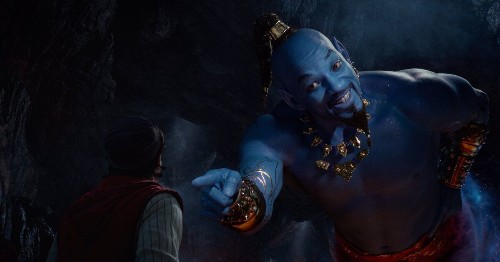 Aladdin Just Threw Some Blue On Will Smith And Expected Us To Be OK With It