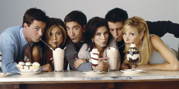 These Photos Remind Us That There Was A Time Before 'Friends'