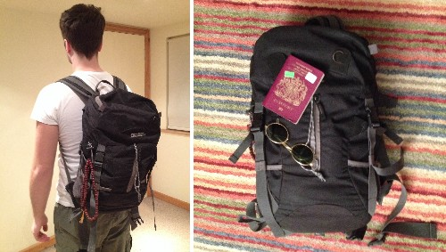 Top Travel Tips - Packing Light