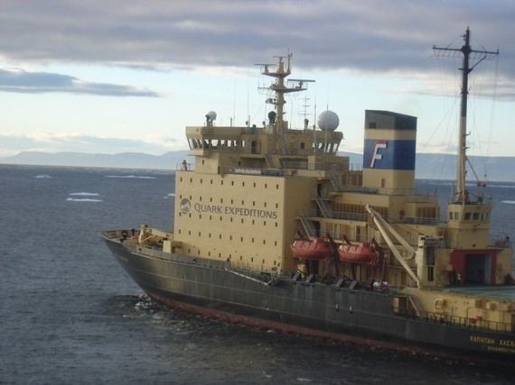Icebreaker Cruise: Instead of a Sunburn, Think Swimming Polar Bears and a Stopover in Greenland