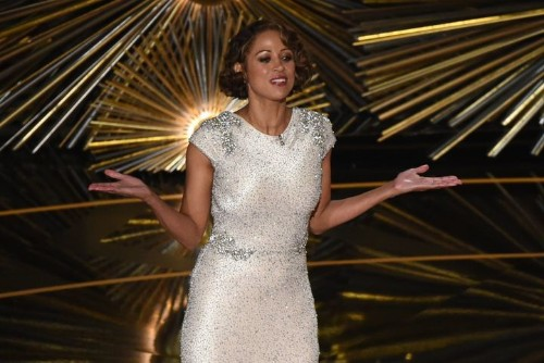 Stacey Dash Calls Leonardo DiCaprio 'Chicken Little' For Oscars Climate Change Speech