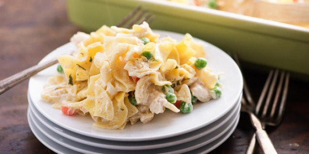 Chicken Noodle Casserole Is a Back-To-School Win | HuffPost Life