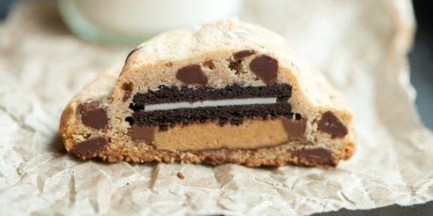 Amazing Super Stuffed Chocolate Chip Cookies | HuffPost Life