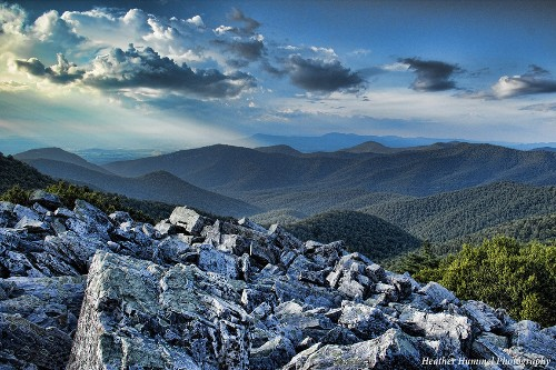 Photo Shoot in the Shenandoah National Park: Blackrock Summit