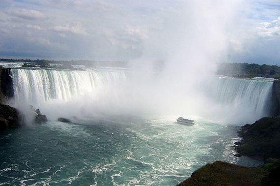 Visiting Niagara Falls in the Fall