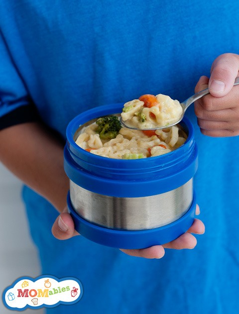 School Lunch Project: Veggie Mac & Cheese Thermos