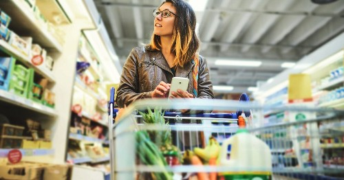 Leave Your Phone At Home When You Go To The Supermarket – And Save Money