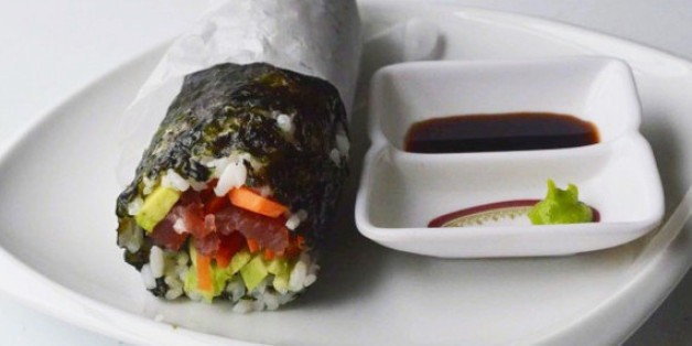 The 15-Minute Sushi Burrito Hybrid You Can Make at Home | HuffPost Life