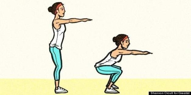 How To Do The Perfect Squat | HuffPost Life
