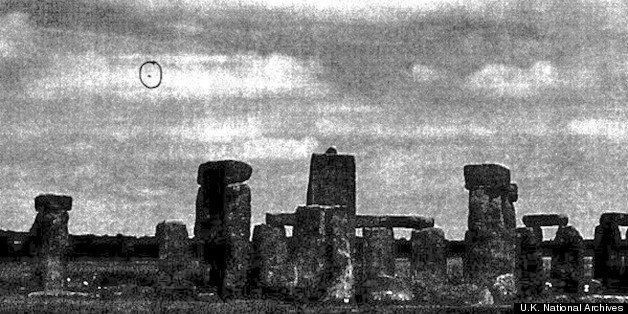 Stonehenge UFO Photo Among Final Release Of U.K. X-Files