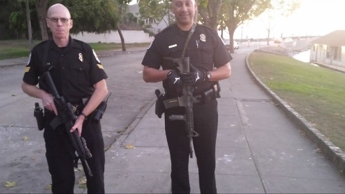 Removing Military Weaponry From Our Streets