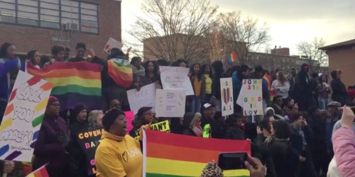 Students In D.C. Combated Westboro In A Truly Amazing Way