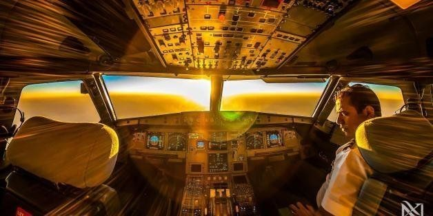 Karim Nafani, Pilot, Photographs Views From The Cockpit (PHOTOS) | HuffPost Life