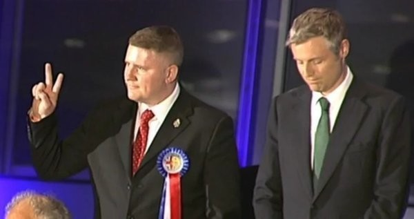 Britain First's Paul Golding Seems To Think His Catastrophic Defeat Was A Victory