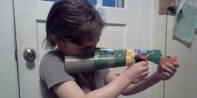 Guns, Boys, and Steel: Should We Put Pretend Weapons in Our Children's Hands?
