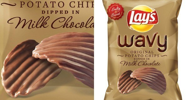 Lay's Debuts Chocolate-covered Potato Chips