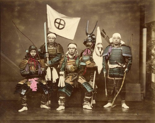 Japanese Samurai And Courtesans Brought To Life In Vivid, Colorized Photos