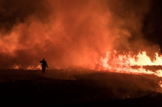 Large Marsden Moor Fire 'Likely' Started By A Barbecue