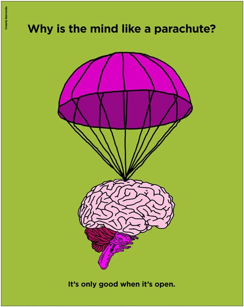 Why Is the Mind Like a Parachute?