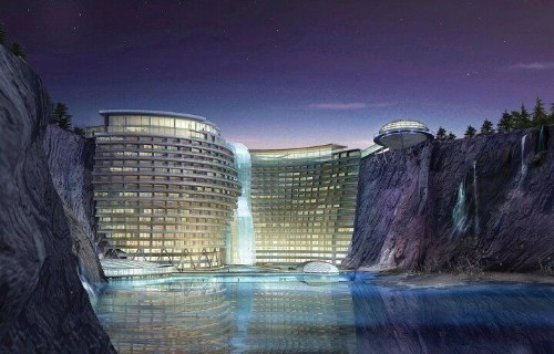 China's Luxury Underground Hotel To Open In 2014 (PHOTOS) | HuffPost Life