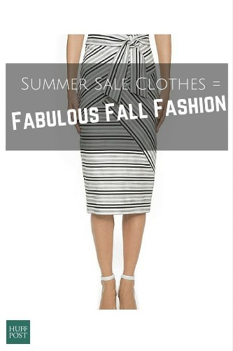 Summer Sale Clothes That Will Seamlessly Transition Into Fall | HuffPost Life