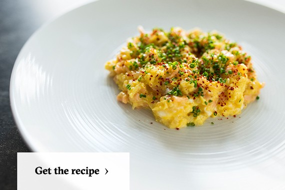 Lox, Stock And Brunch: The Best Scrambled Eggs Recipe To Serve A Crowd