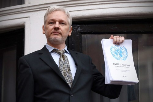 Julian Assange: Google Is Hillary Clinton's 'Secret Weapon'