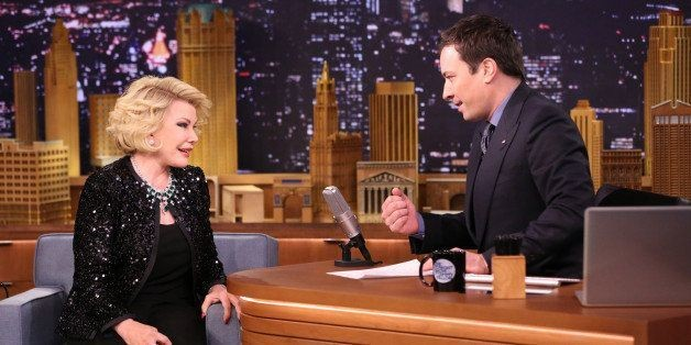 Joan Rivers Returns To 'Tonight Show' 26 Years After Johnny Carson Ban
