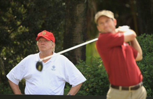 White House Nightmare: Trump Golfs While His Secret Service Agents Work Without Pay