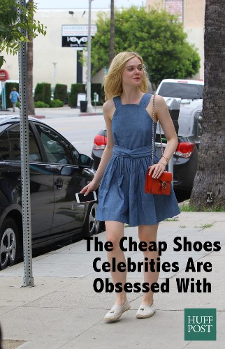 The Cheap Shoes Celebrities Wear All The Time | HuffPost Life