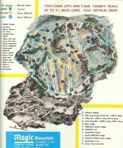 Blast From the Past: Ski Resorts, Then and Now