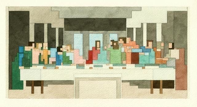 8-Bit Versions Of Famous Art And Pop Icons Are All Kinds Of Yes